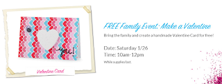 Free Family Event: Make a Valentine at Michaels
