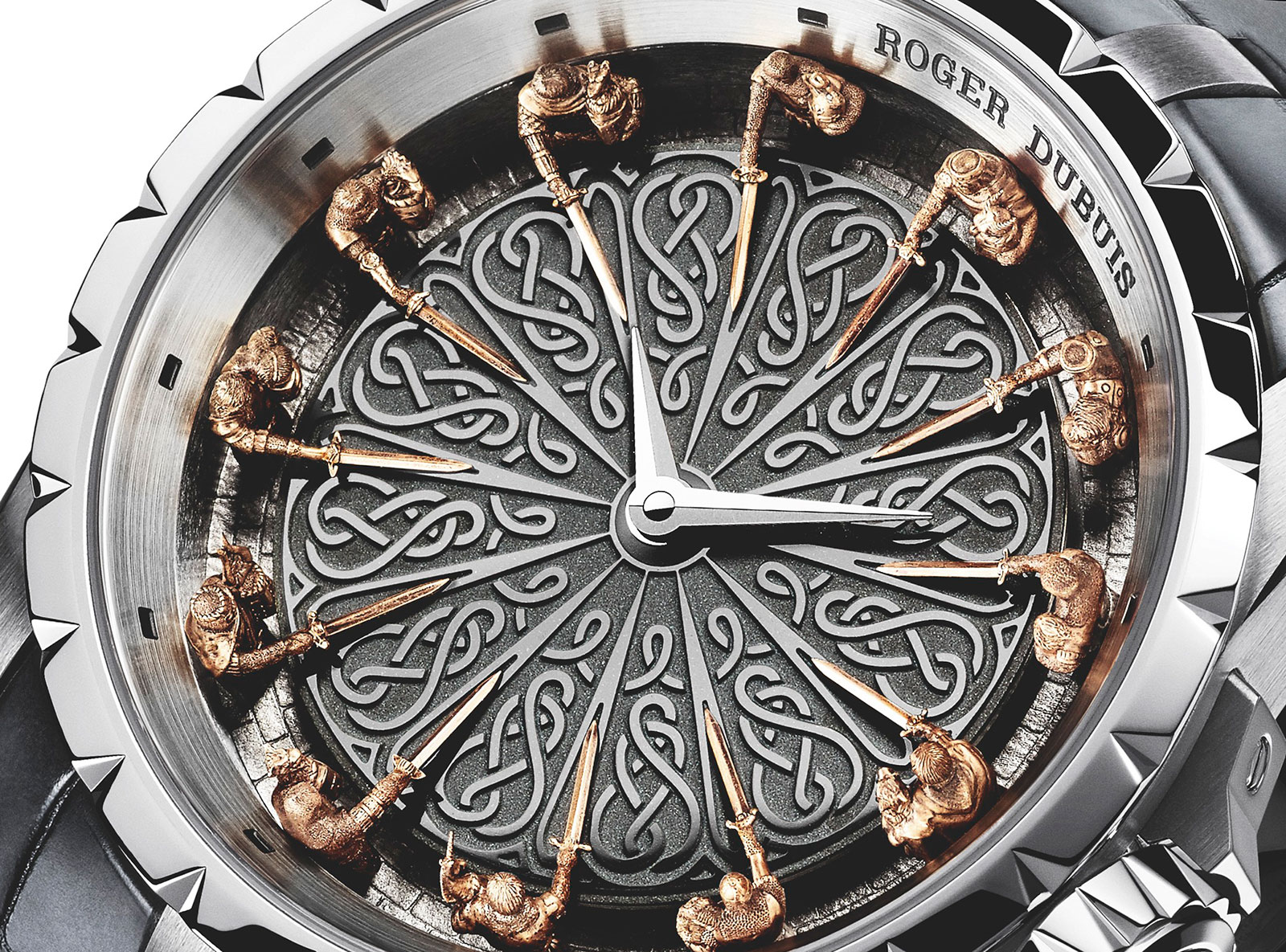 Watches by sjx introducing the roger dubuis knights of for 12 knights of round table