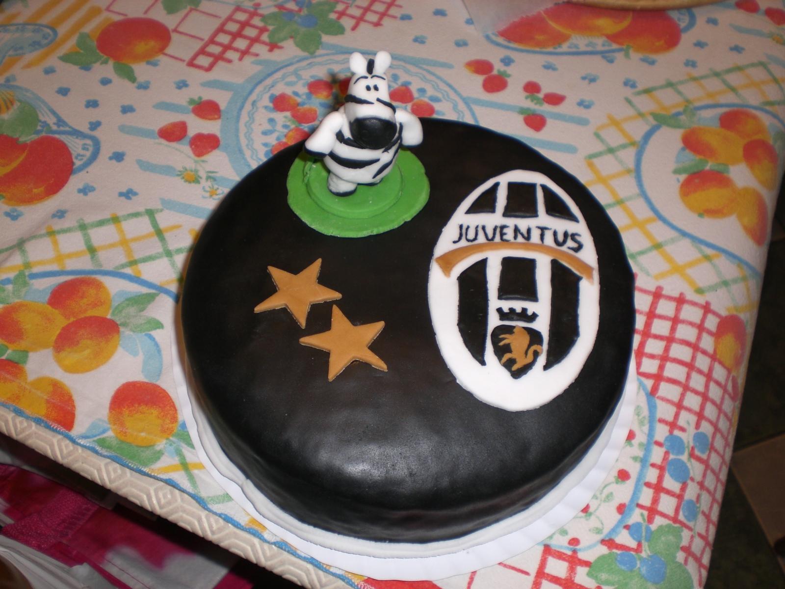 I Love Cake Design Fiorella : Cake Design di Fiorella: Torta Juventus