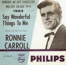 Ronnie Carroll Say Wonderful Things
