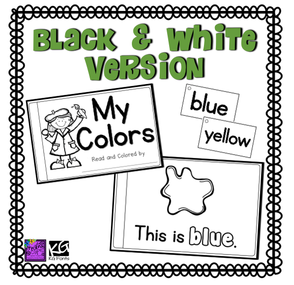 http://www.teacherspayteachers.com/Product/Color-Words-Reader-1423246