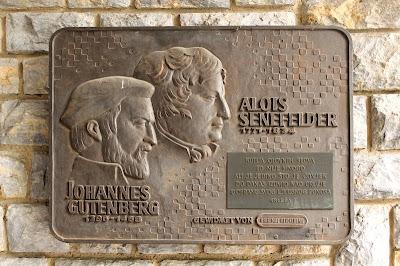 Johannes Gutenberg & Alois Senefelder