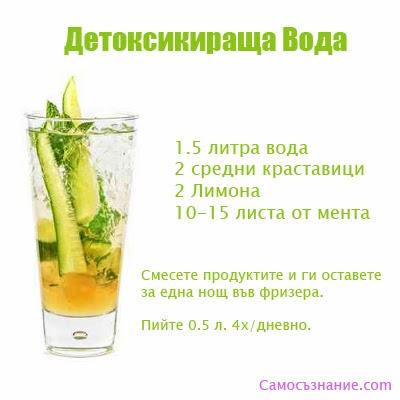 5 Здравни Ползи от Детоксикиращата Напитка