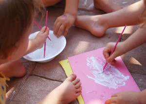sunscreen preschool activity