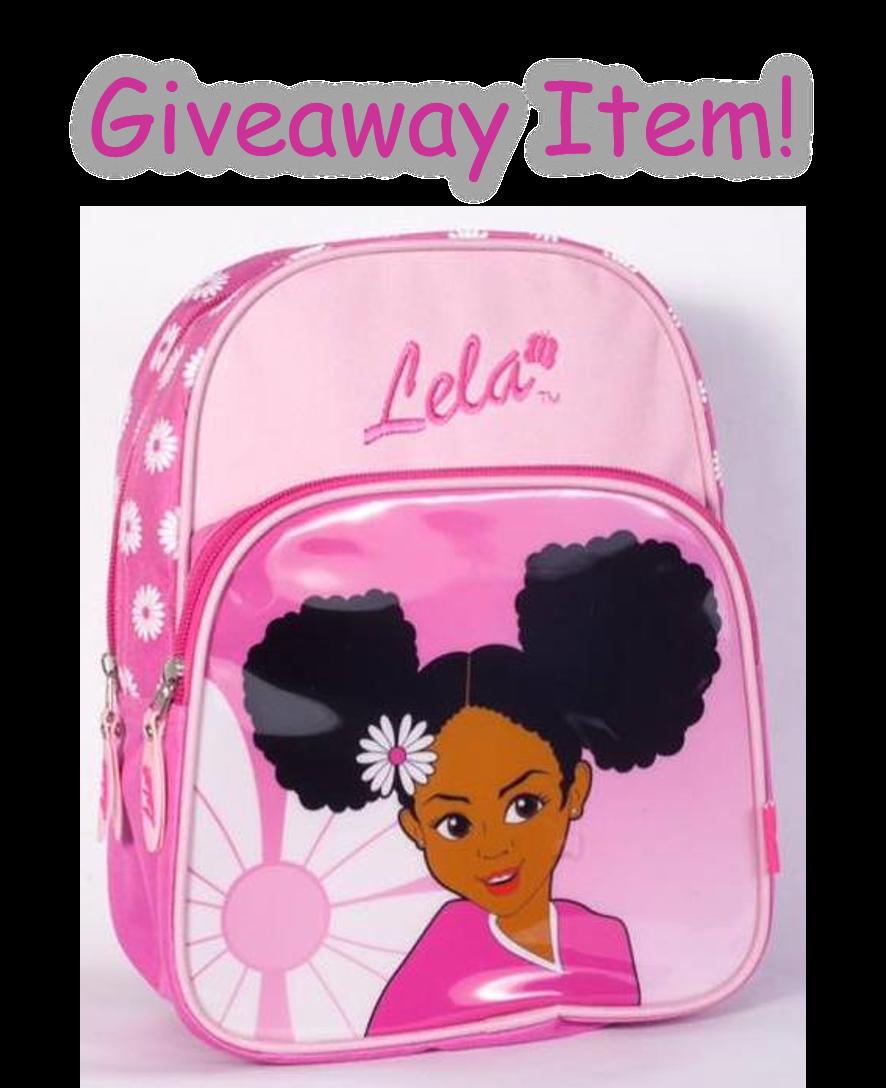 Natural Hair Black Girl Book Bag