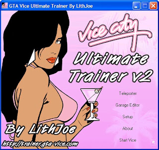 GTA : Vice City Ultimate Trainer v2.0 By Lithjoe