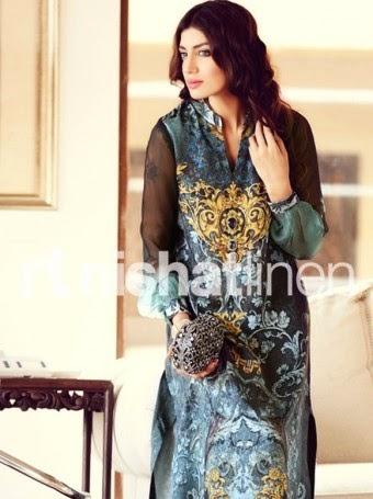 Nishat Linen Eid Pret 2014