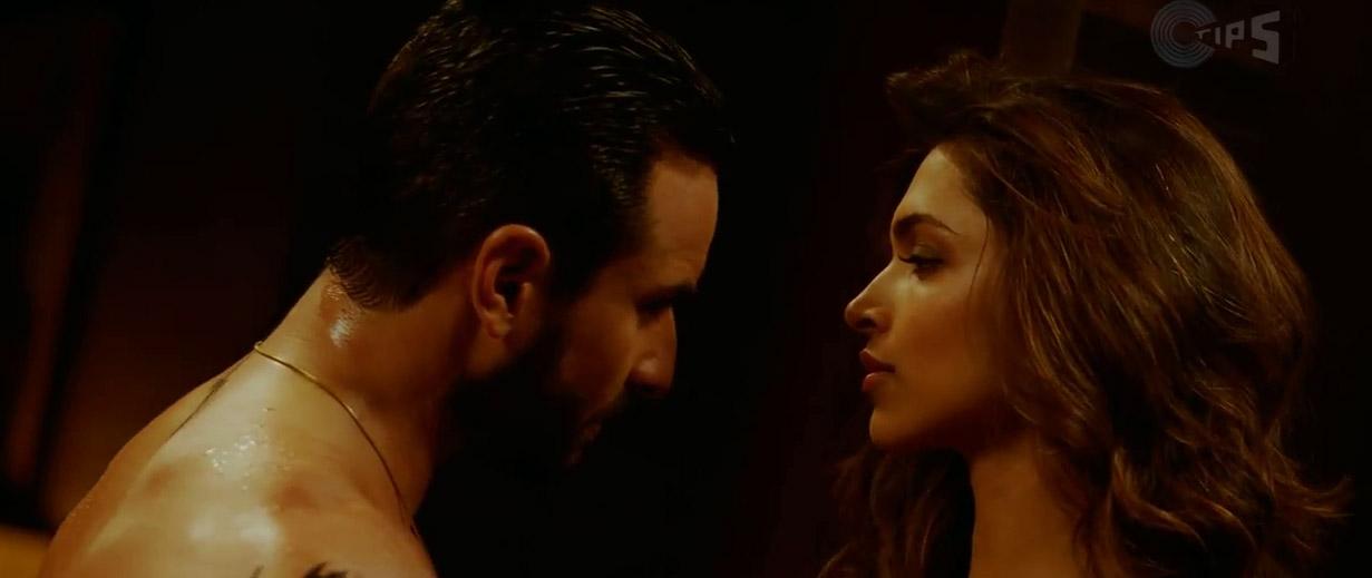 hot romantic video be intehaan feat saif ali khan