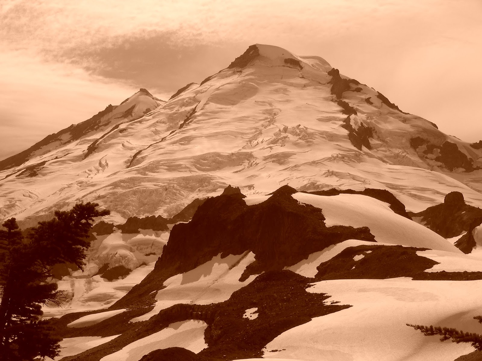 American alpine institute climbing blog ptarmigan ridge for Chair 6 mt baker