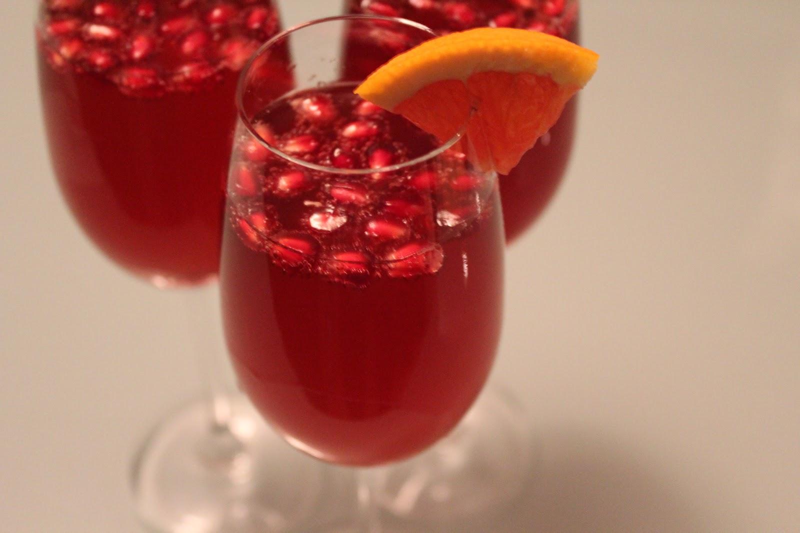 Pomegranate sparklers