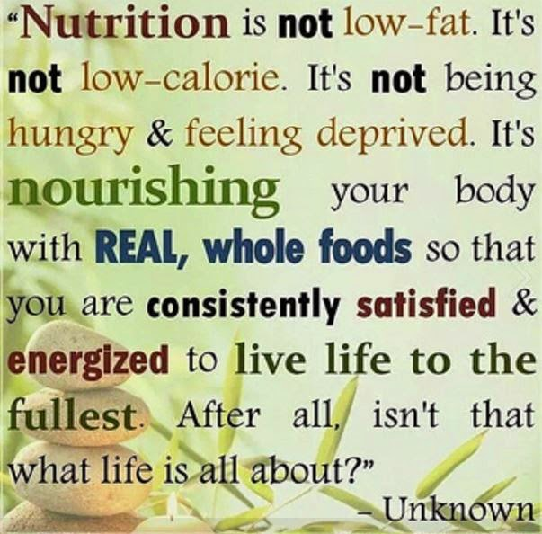 nutrition is...
