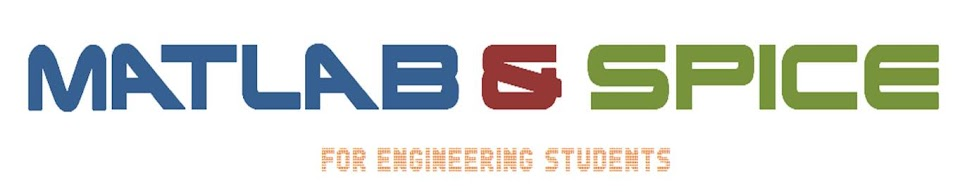 MATLAB & SPICE PROGRAMS FOR ENGINEERING STUDENTS