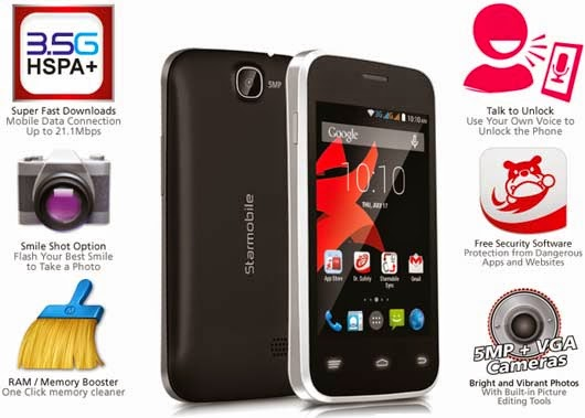 Starmobile Vida A Dual-Core Android KitKat Priced at 2,490