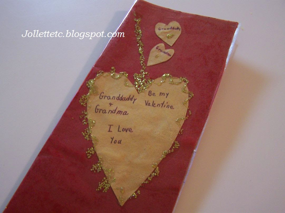 Valentine Card early 1960s  http://jollettetc.blogspot.com