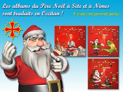 Le Père Noël parlera occitan à Sète et Nîmes