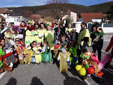 participation, pour la deuxième année consécutive au carnaval des enfants de Buhl