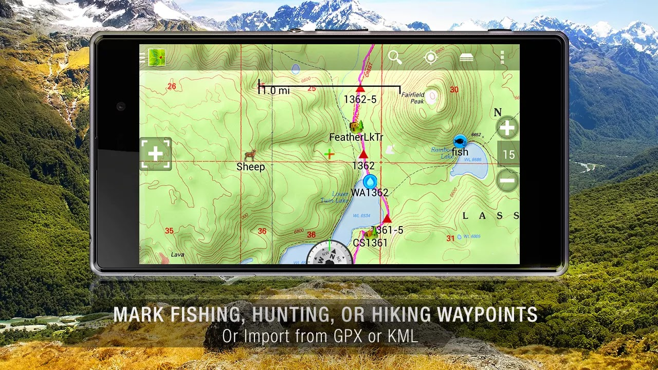 BackCountry Navigator TOPO GPS v5.6.4
