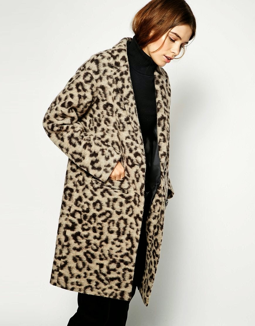 leopard hair coat