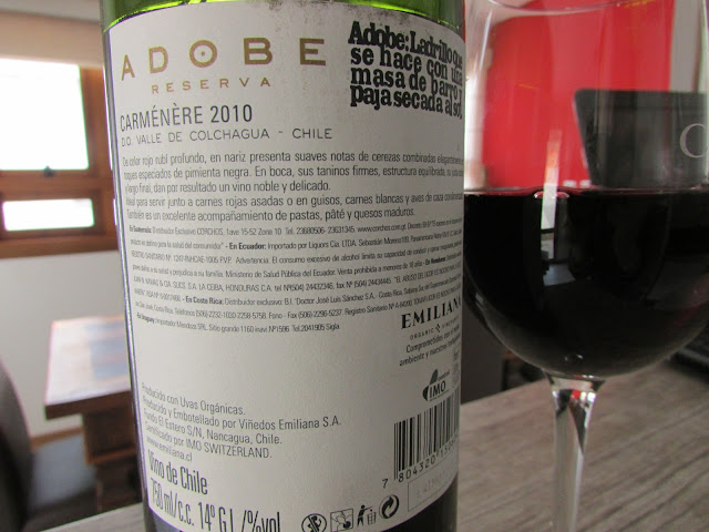 vinho, tinto, Adobe, reserva, carmenére, Emiliana