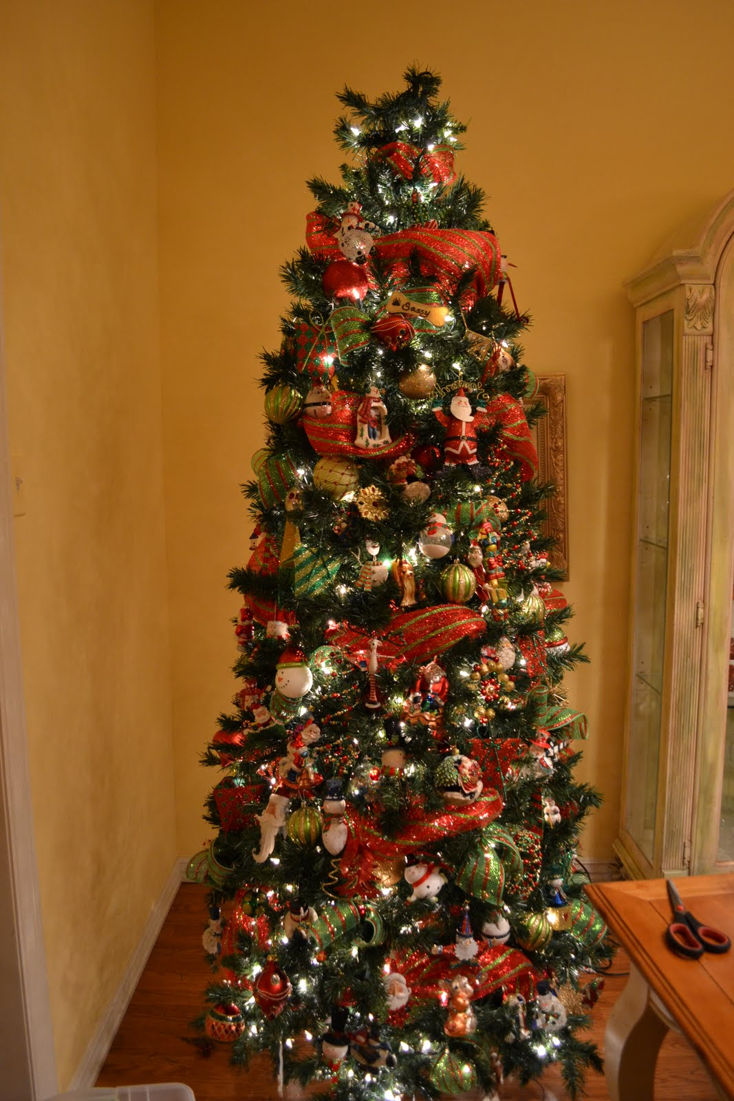 Christmas Tree Decorating With Wire Ribbon : Putting mesh on xmas tree review ebooks
