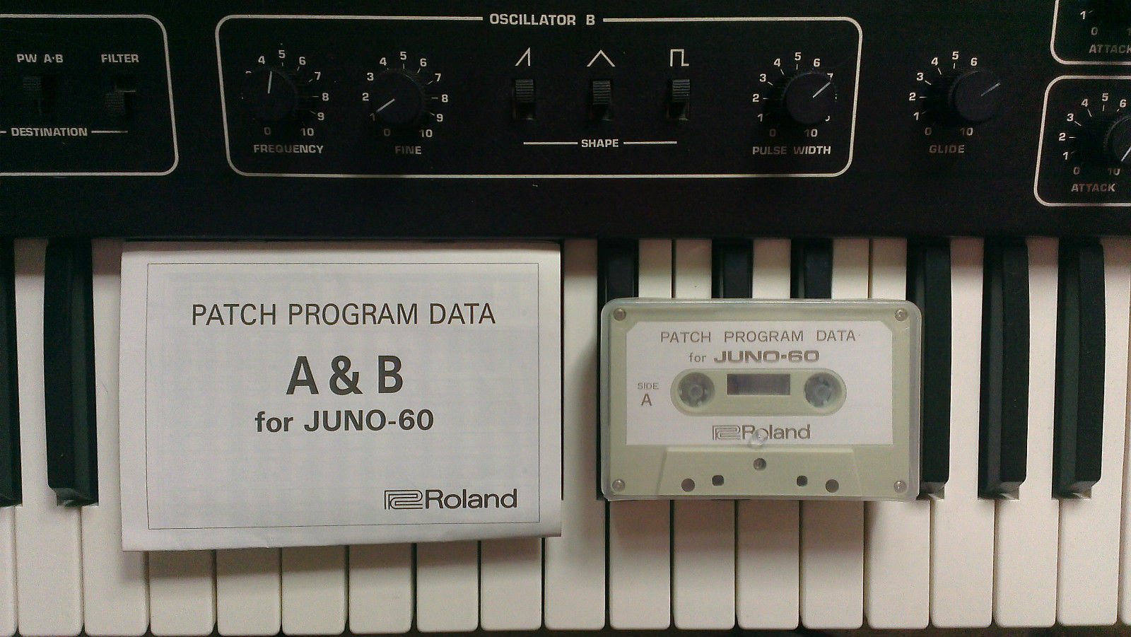 Juno 60 patch sheets for highspeed