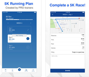 Fintess App of the Week - 5K Running Training Plan
