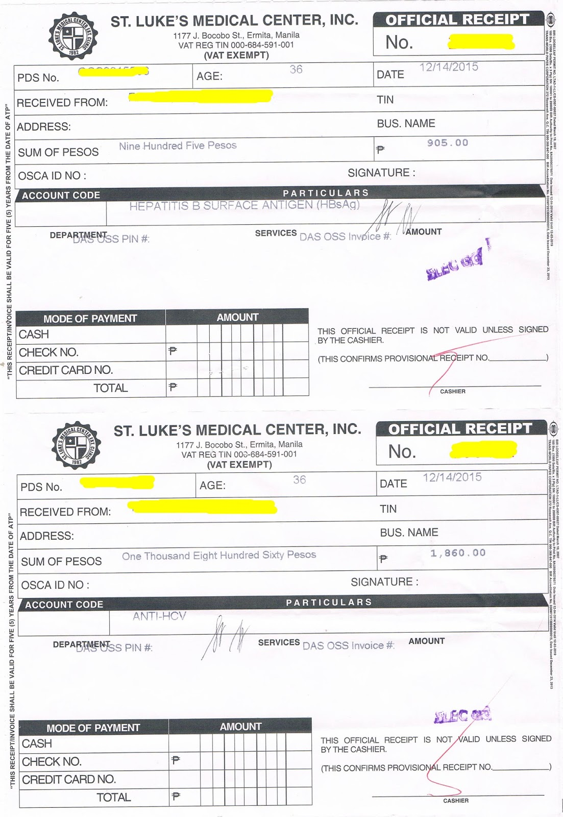 Our canada dream diary upfront medical nbi and others on my part i was required by the doctor to provide for a medical certificate for an impaired hearing condition on my left ear ouch i never expected this yadclub Images