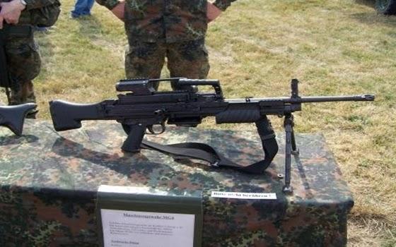 HK MG4 MG 43 Machine Gun