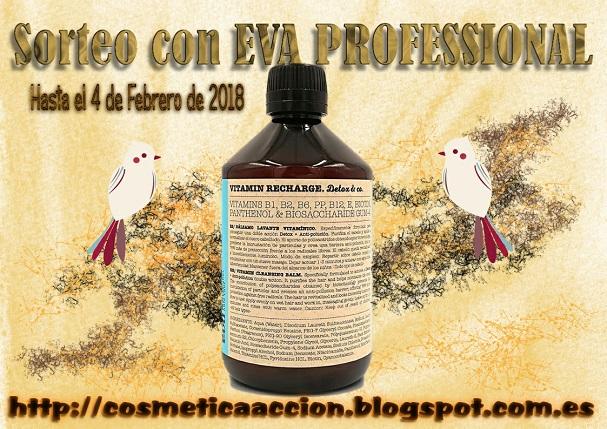 "sorteo bálsamo lavante ""Vitamin Recharge Detox&Co."" de EVA PROFESSIONAL"