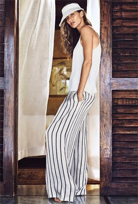 H&M verão 2014 calças pantalonas