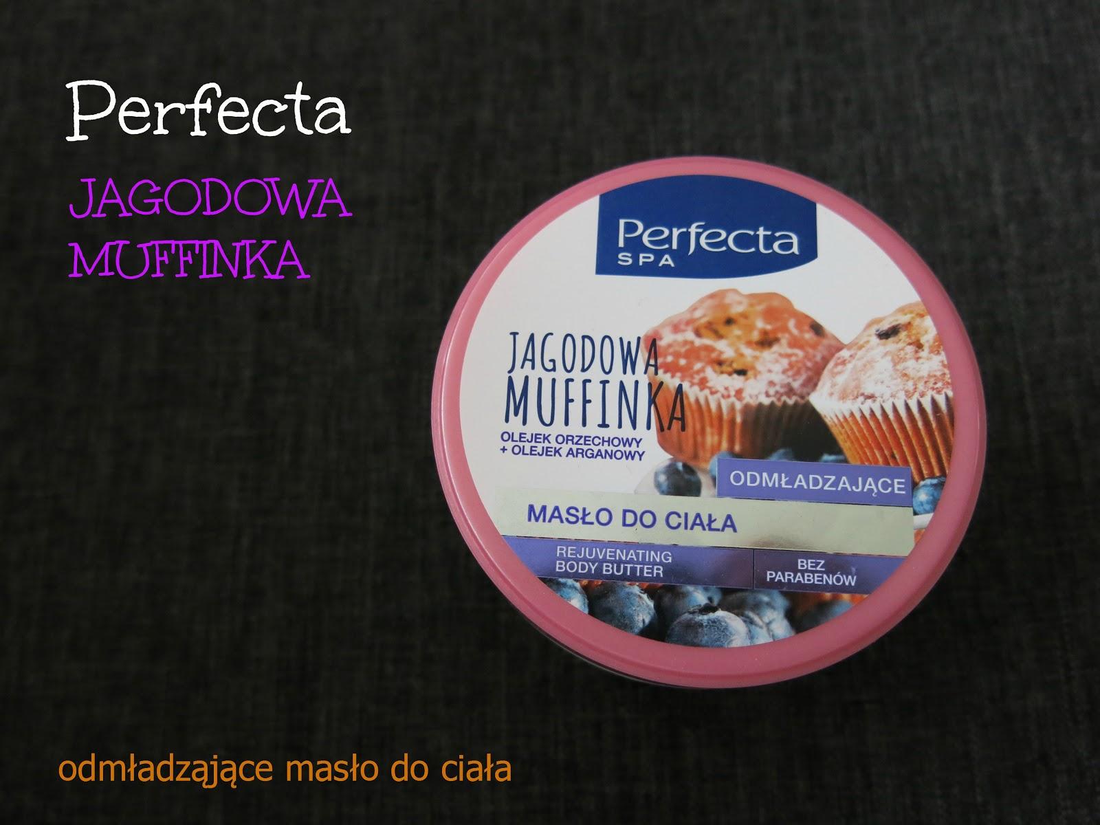Perfecta - Odmładzające masło do ciała Jagodowa muffinka.