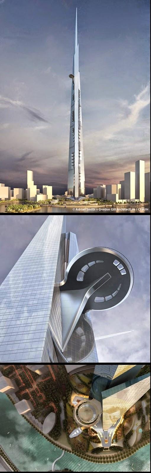 Pembinaan Menara Tertinggi Dunia Kini Bermula di Jeddah Kingdom Tower