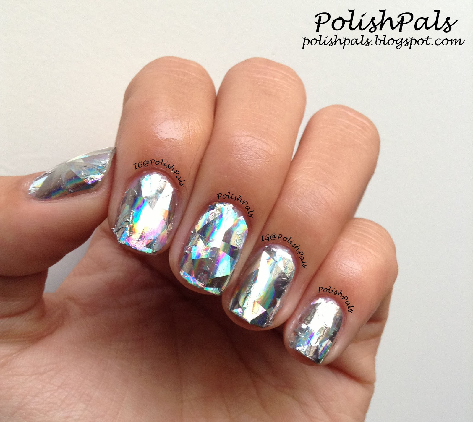 Polish Pals: Nail Foil Review {From KKCenterHK}