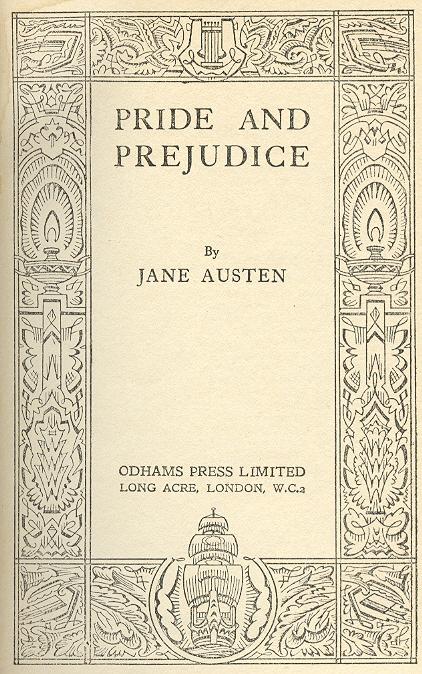 jane austen pride and prejudice book report
