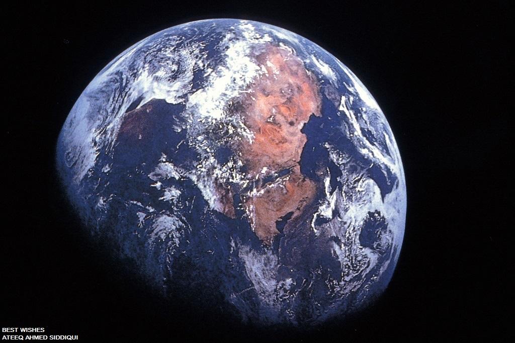 imagen tierra desde espacio: