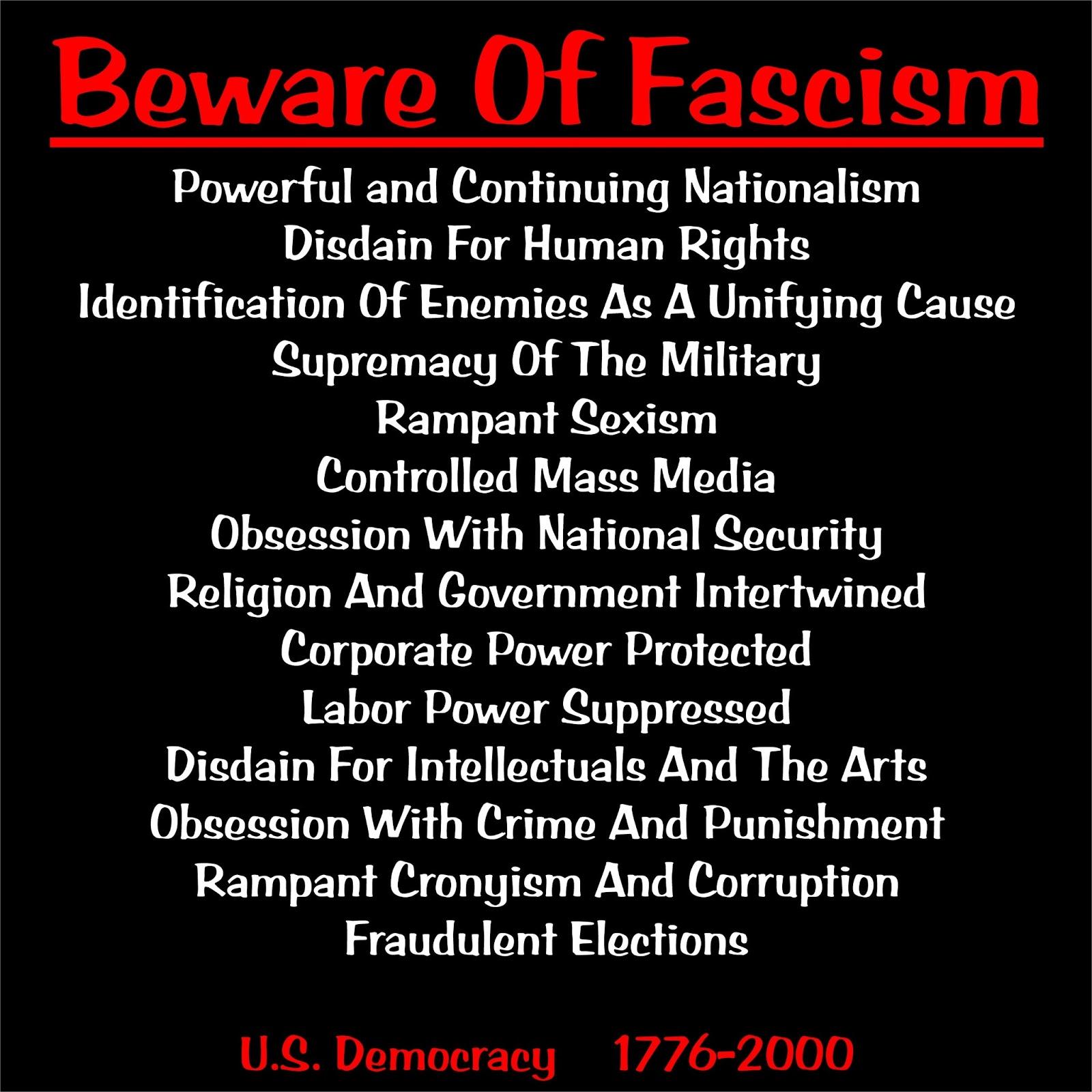 fascism example