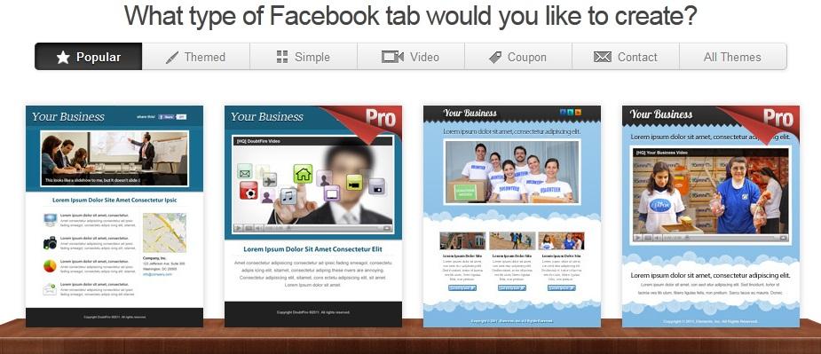 طريقة تصميم صفحة على الفيسبوك بشكل انيق