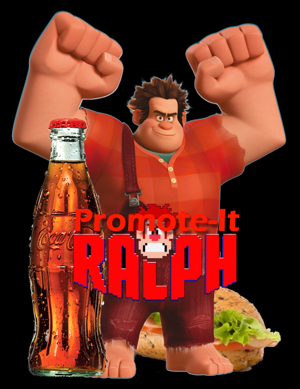 Promote it ralph brandplacement in kid movie