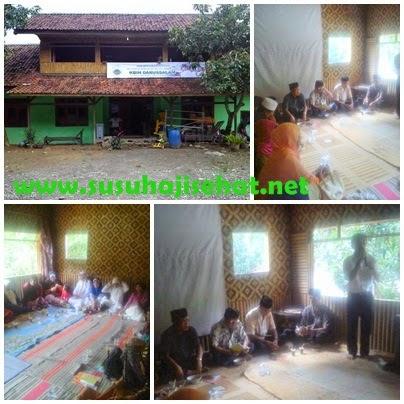 Edukasi kesehatan jamaah haji kbih Darussalam,kp.cijayanti mekar buana tegal waru kabupaten karawang