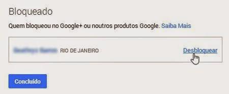 Como desbloquear uma pessoa no Google+ Mais