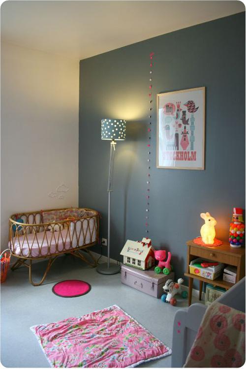 Lalole blog el gris en habitaciones infantiles for Habitacion bebe gris