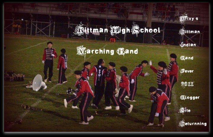 WiXy's Rittman Fighting Indians HS March'N' Band FeVer 2011-2012