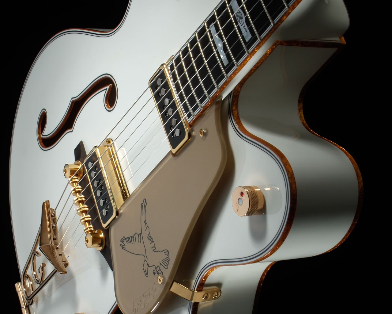 The Gretsch White Falcon