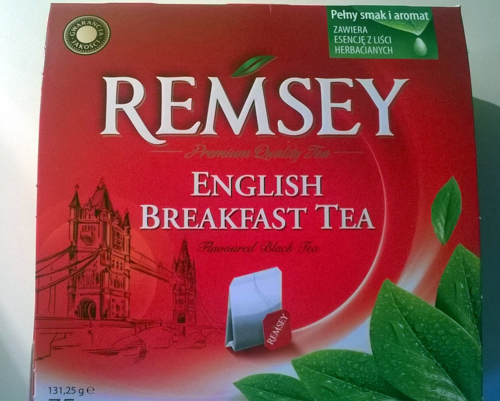 herbata Remsey English Nreakfast Tea z Biedronki