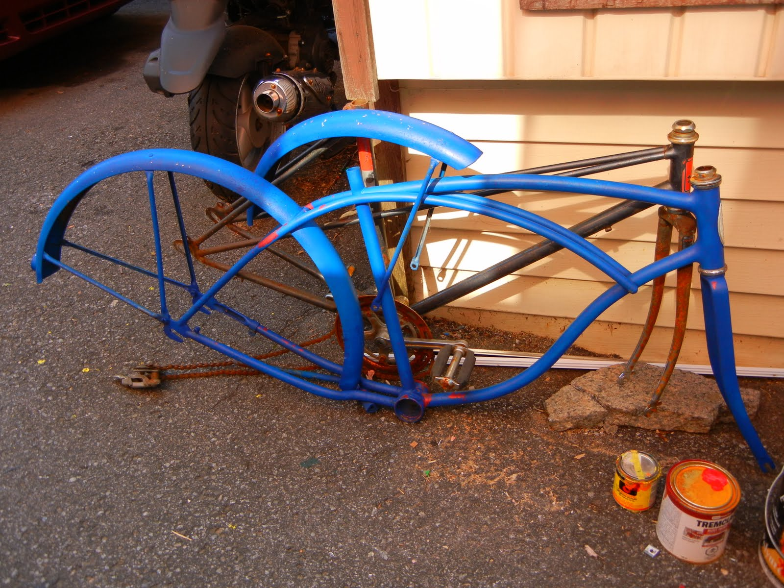 Free Advice On How To Fix Your Bicycle Home Made Stretch Bike