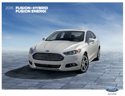 Downloadable 2016 Ford Fusion Hybrid Brochure