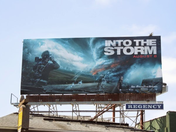 Into the Storm film billboard