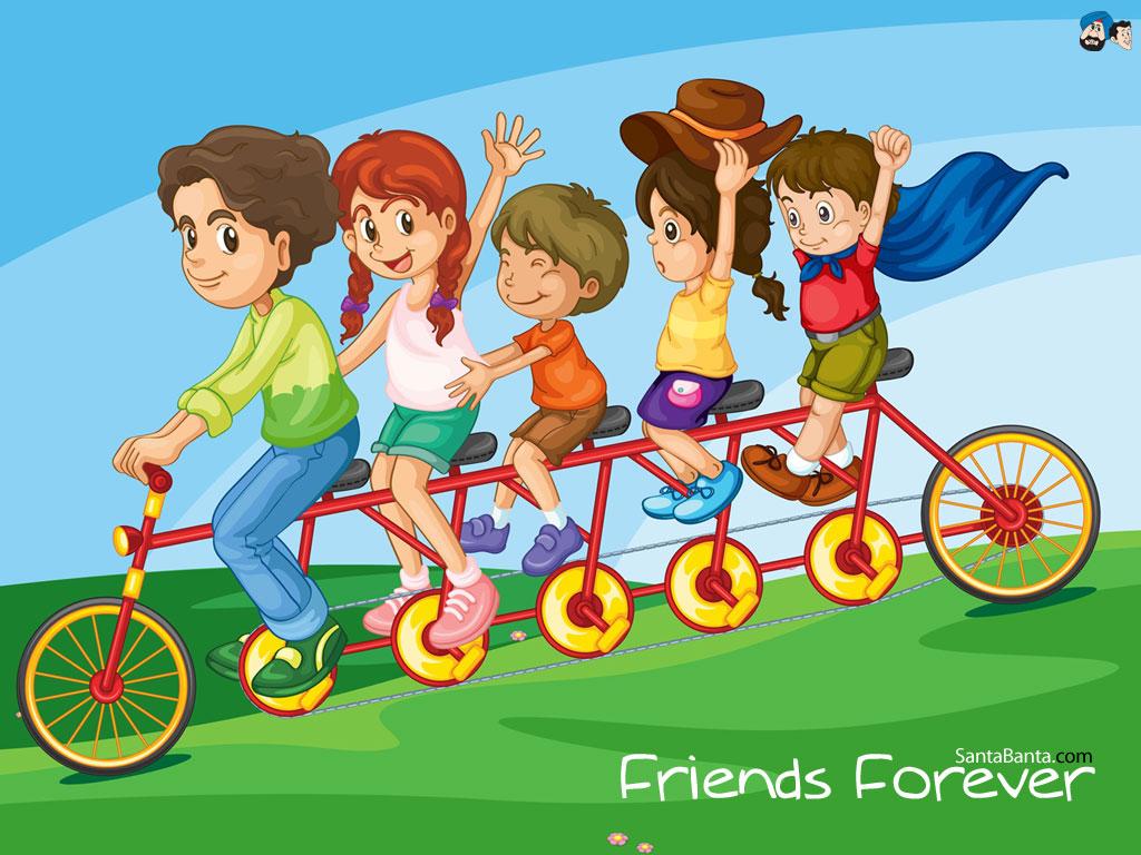 Gambar Kartun Lucu Tentang Persahabatan Kumpulan Gambar Dp Bbm