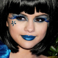Selena Gomez Perez Hilton's Blue Ball Birthday Celebration