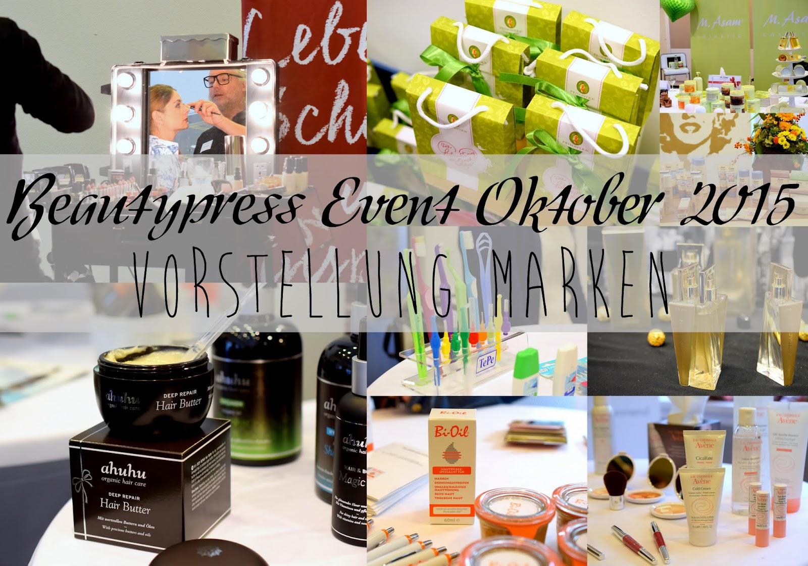 Beautypress Oktober 2015: Vorstellung Marken